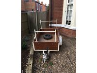 Heavy duty Trailer 5ft x 3ft 6""