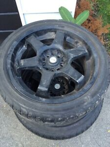 """17"""" focal rims and tires"""