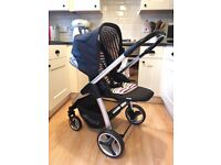 Hauck Lacrosse All In One Pushchair / Travel System (Stone)