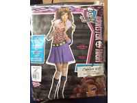 Monster High Clawdeen Wolf - Child Costume Size 8-10 years