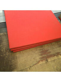 12 red Judo gym MMA gymnastic mats 2mx1mx40mm