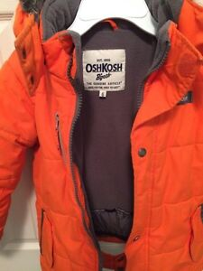 Boys Oshkosh Winter Jacket Size 6 Cambridge Kitchener Area image 2