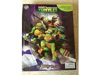 Teenage Mutant Ninja turtles book/game
