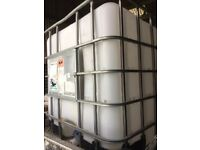 1000l IBC water container - garden/allotment