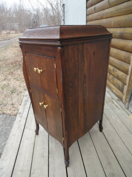 Listing item - ANTIQUE GRAMOPHONE CABINET***NEW PRICE**** Hutches & Display