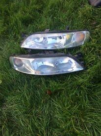 Vauxhall vectra b head lights