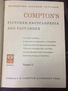 1959 Comptons Pictured Encyclopedia full set  Kawartha Lakes Peterborough Area image 2
