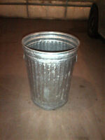20 Gal galvanized garbage can