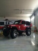 Lifted 1999 Jeep TJ