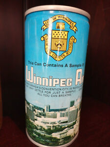 One Lot of 6 Beer Cans and Two Beer Bottles (One Can Of Air) Kitchener / Waterloo Kitchener Area image 5