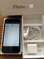 iPhone 4S 32gb noir a donner