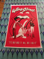 """Rolling Stones  24"""" X 36"""" Poster"""