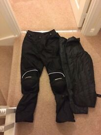 Spada motorbike trousers