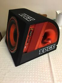 "EDGE 12"" active Sub with built in amp"