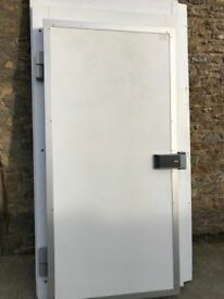 cold room door and frame