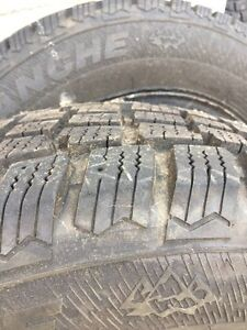 Hercules Avalanche Winter tires with rims- only used 1 season Kitchener / Waterloo Kitchener Area image 4