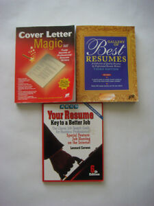 Resume and Cover Letter Books
