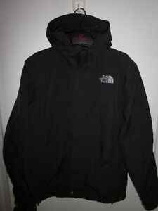 MENS AUTHENTIC BLACK NORTH FACE HYVENT SHELL JACKET SIZE SMALL