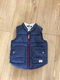 Next body warmer size 3-6 months