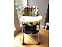 Chicco Spotty Reclining High Chair