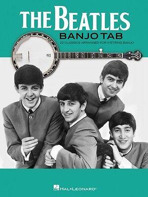 The Beatles Banjo Tab Sheet Music Banjo Book NEW 000128671