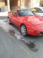 Porsche 944 with maintenance records and 76000km