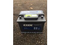 Car battery exide premium