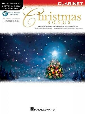 Christmas Songs for Clarinet Instrumental Play-Along Instrumental Play 000146858 ()