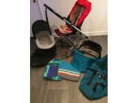 Urbo 2 Pram with Carrycot and lots of extras