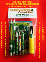 Lucky Lotto scratcher  gift pack
