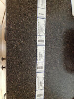 3 x Kelowna Aerosmith Concert tickets