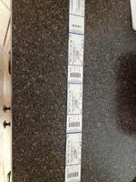 3 x Kelowna Aerosmith Concert tickets