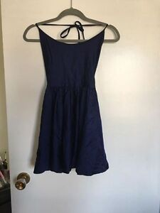 American Apparel navy blue halter dress - pick up only.