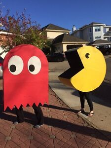 Pacman and Ghost Halloween Costumes Strathcona County Edmonton Area image 1