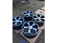 Transit van sport 18 inch alloys st custom wheels