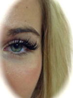 Beautiful Eyelash Extensions applied pain free without damage to
