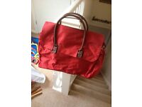 Brand new red bag ideal for shopping, gym etc