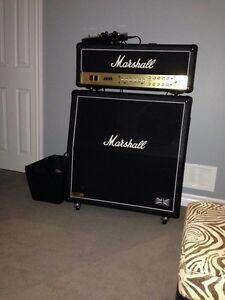 Marshall JVM 210H head and 1960 cabinet