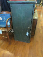 Antique Primitive Small Wooden Cupboard Cabinet