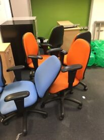 20 x Various different color branded quality chairs on clearance just £20 each!!