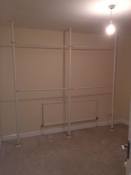 ikea stolmen wardrobe poles rails in dunfermline fife gumtree. Black Bedroom Furniture Sets. Home Design Ideas