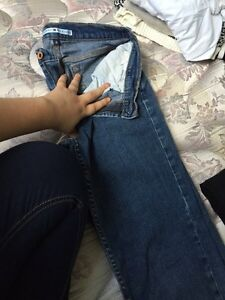 Jeans and jogs!