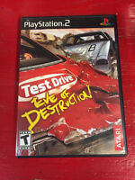 PS2  TEST DRIVE  EVE OF DESTRUCTION
