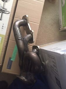 BBK shorty headers and Magnaflow off-road mid pipe
