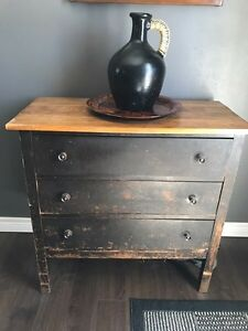 Charming multi use chest of drawers