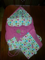 Car seat winter cover set