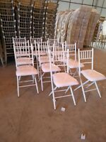 Rent our Beautiful, Modern Chiavari Chairs!
