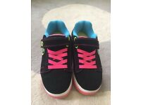 Heelys size 2- only used indoors a couple of times so as new