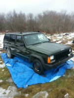 Sold Pending Pickup ...Complete 1996 Jeep Cherokee for parts