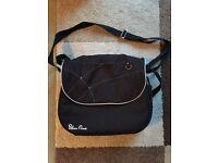 Unisex Silver Cross Black Changing Bag - Surf, Wayfarer, Pioneer